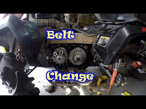 2016 Can-Am XMR 850 belt change