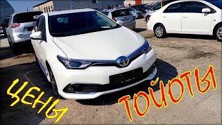 Цена на Toyota, авто из Литвы, май 2019.