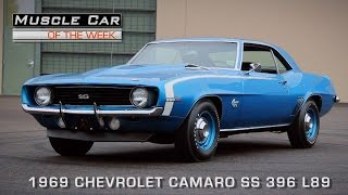 Muscle Car Of The Week Video Episode #112: 1969 Chevrolet Camaro SS 396 L89
