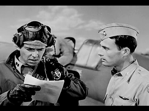 WW2 Fighter Combat Formations: Attack & Escort w Ronald Reagan -1943 - Restored