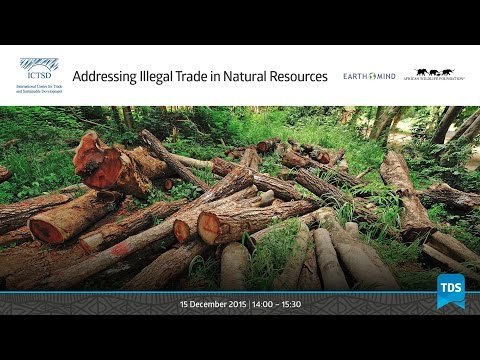 TDS LIVE | Addressing Illegal Trade in Natural Resources