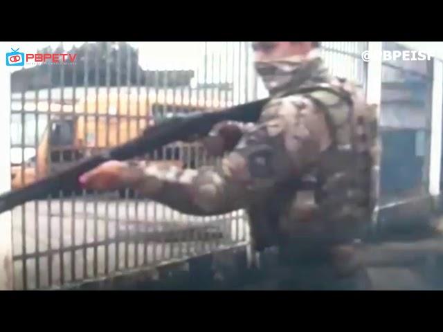 PRF PERSEGUE MECÂNICO EMBRIAGADO EM CAMPINA GRANDE