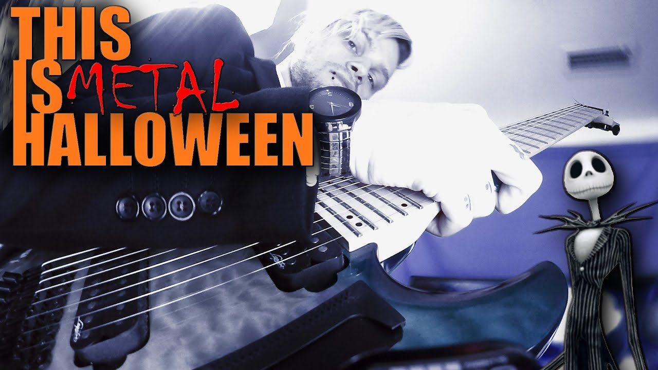 Download This Is Halloween EXTREME METAL / DJENT Cover by MARYJANEDANIEL