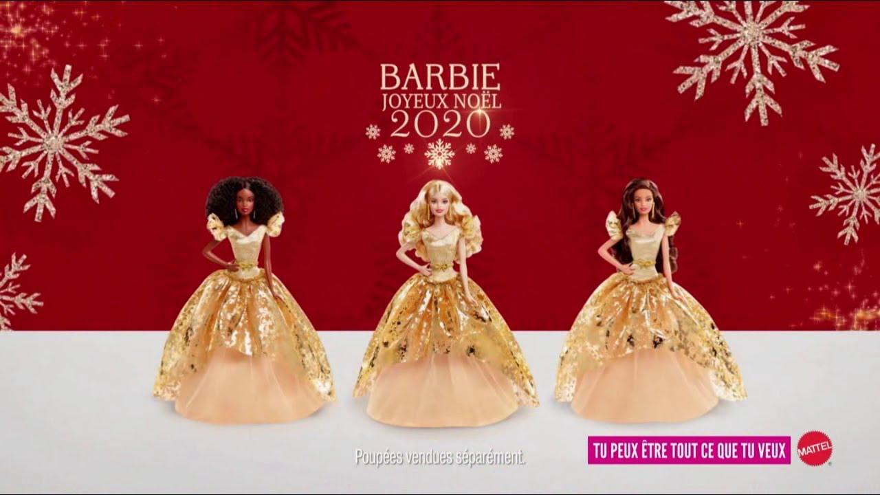 """Musique de la pub Barbie Mattel """"joyeux Noël 2020""""  2021"""
