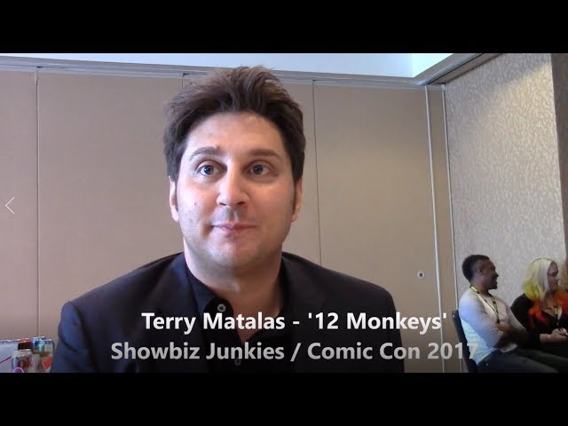 12 Monkeys - Terry Matalas Interview, Season 4 (Comic Con)