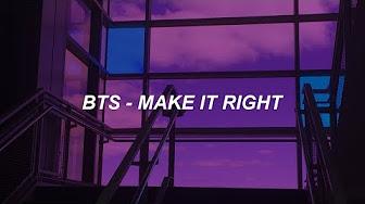 make it right easy lyrics - YouTube