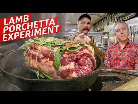 Turning a Lamb Neck into a Porchetta at New York's Hottest Middle Eastern Restaurant — Prime Time