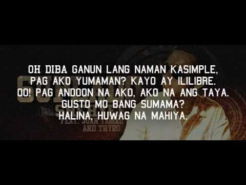 Suplado - Shehyee feat. ThyRo & Juan Tamad ( Produced by BoJam of FlipMusic ) LYRICS VIDEO