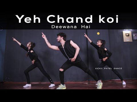 Yeh Chand Koi Deewana Hai Dance Video | Vicky Patel Choreography | Bollywood Dubstep Song