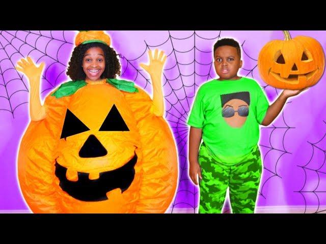 Shiloh and Shasha's HALLOWEEN PUMPKIN VISITS! - Onyx Kids
