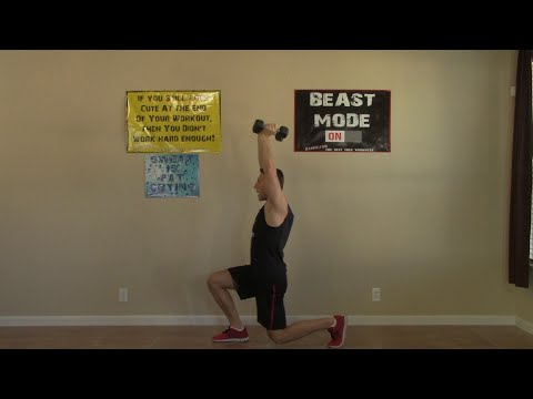 20 min weight training at home  hasfit home strength