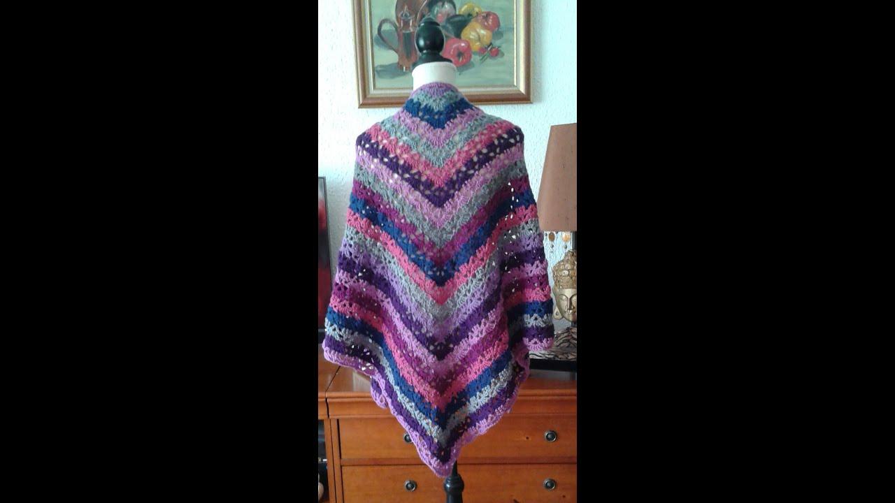 Crochet Châles Scialli Cappe Mantelli Coprispalle Youtube