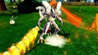 Digimon Masters Online - Dracomon(Blue) - all evolutions and attacks