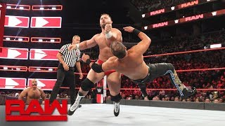 Curtis Axel vs. Dash Wilder: Raw, Aug. 20, 2018