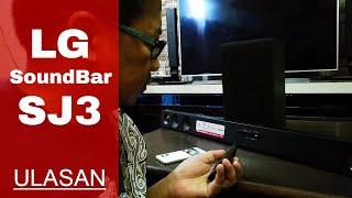Ulasan Wireless Soundbar LG SJ3 | Review & Testing [Malay]
