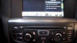 citroen new c4 multimedia system.flv