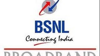 Change BSNL Broadband plan online