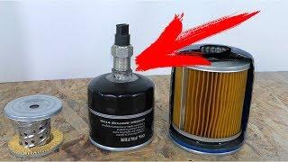 Проверим что будет если залить КОНТРАФАКТНОЕ масло в двигатель. что будет с фильтром?