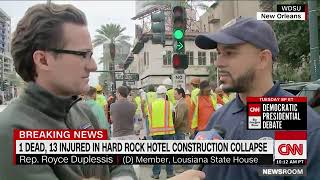 hard rock cafe construction collapse new orleans