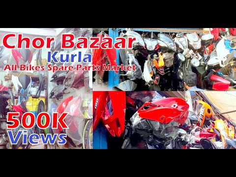 All Bikes Spare Parts Market   Chor Bazaar in Kurla   A1 Quality   CST Road Kurla