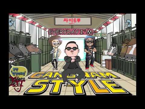 Everyday Im Gangnam Style PSY v LMFAO