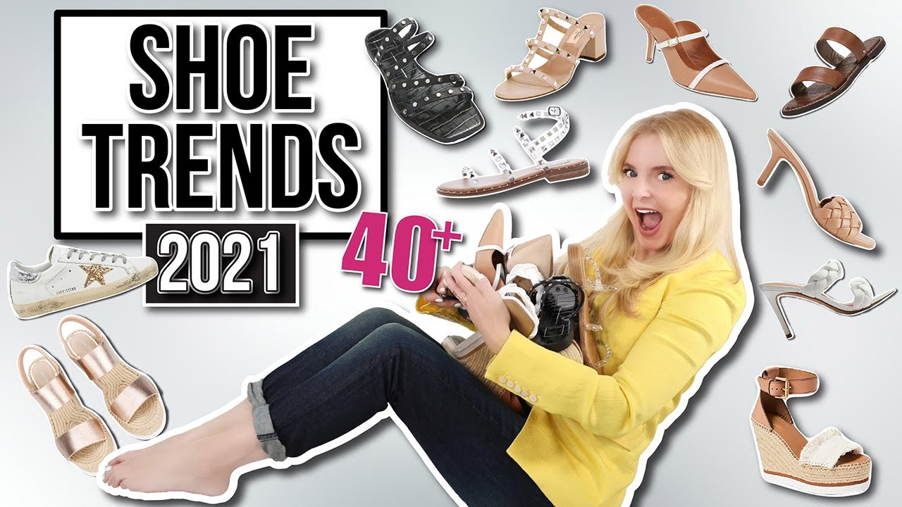 The 2021 Shoe Trends You Need to Know About for over 40+ (My 10 FAVORITE Picks!)