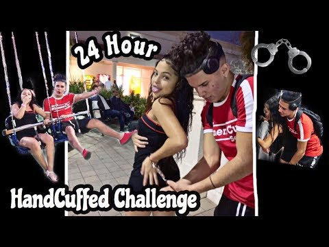 24 HOURS HANDCUFFED TO MY CRUSH 😍 | OUR FIRST DATE!