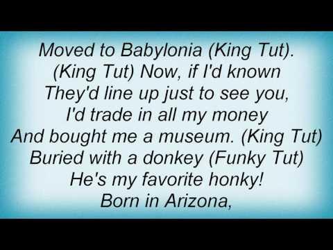 Steve Martin - King Tut Lyrics