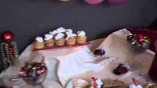 Выпускной 4-го класса в кафе Дуэт (Марьино) 23 мая 2013 года- праздничная сервировка стола.