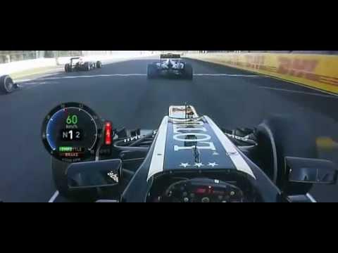 F1 GP Suzuka 2013 le départ de Grosjean(onboard)