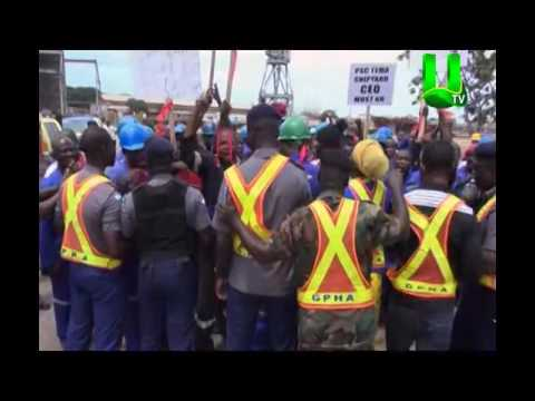PSC Tema Shipyard workers call for removal of CEO