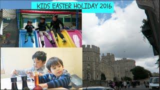 Kids Easter Holiday Week 1-weekly vlog