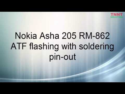 TNNT Solution How to flash Nokia Asha 205 RM-862 by AFT with USB soldering