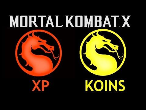Mortal Kombat X - Fast Level Up & Koins (xp money & money glitch)