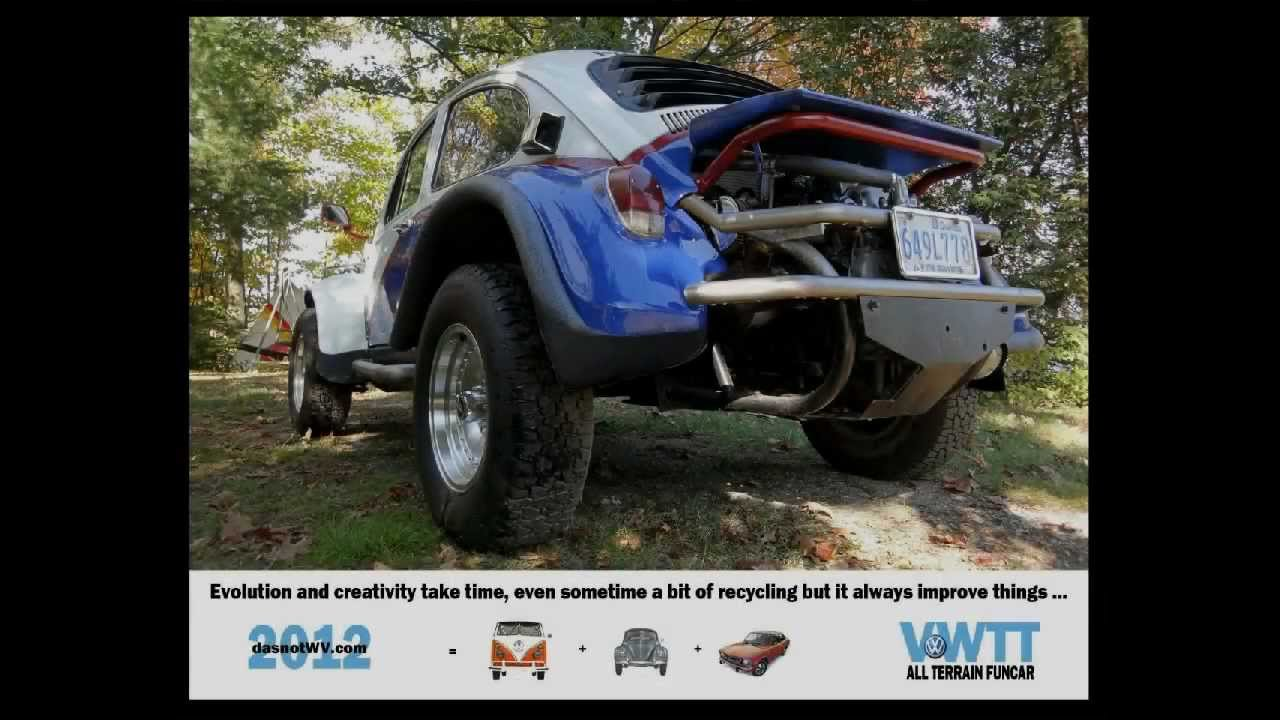 Paris Dakar 2013 - Beetle -- Jacky Ickx fan - YouTube