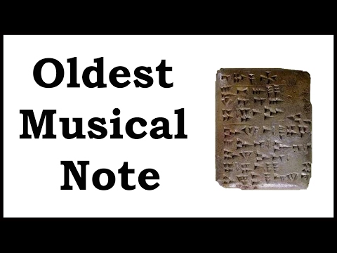 First Ever Musical Note, Echoes from Ugarit