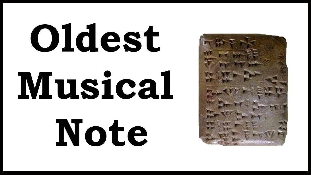 first ever musical note echoes from ugarit youtube