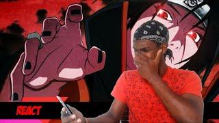 [REACT] Rap do Itachi (Naruto) - ESSA DOR QUE CAUSEI... | NERD HITS (7 Minutoz)
