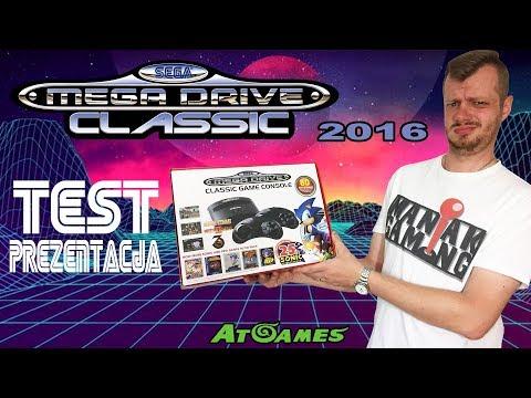 Sega Mega Drive [2016] - prezentacja i test thumbnail