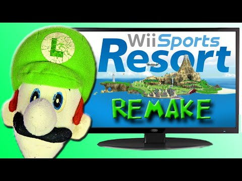 Wii Sports Resort - Luigi Time!!! Special Edition