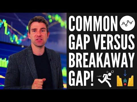 Common Gap vs Breakaway Gap; How to Trade Them! 👌