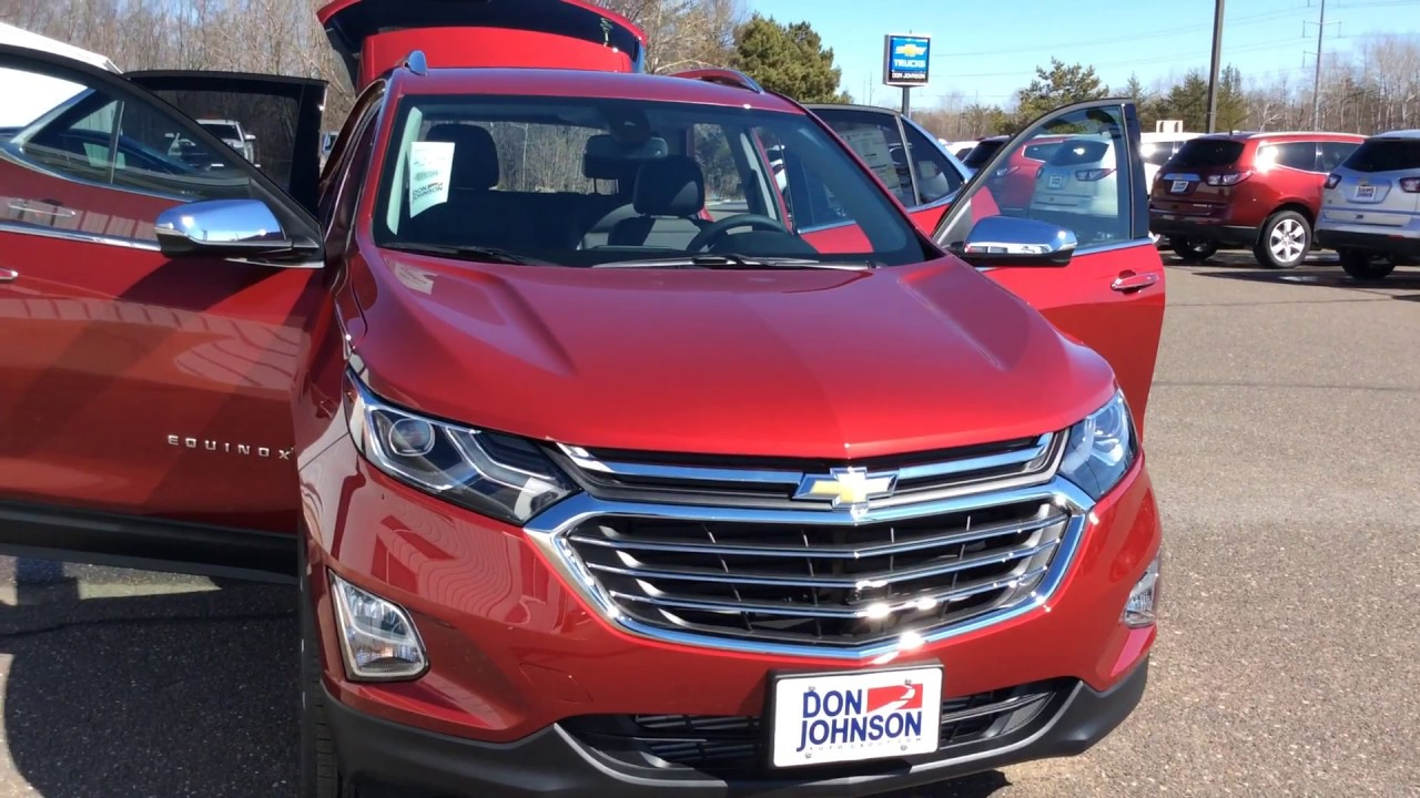 2018 chevrolet equinox awd premium cajun red h17133 for Don johnson hayward motors