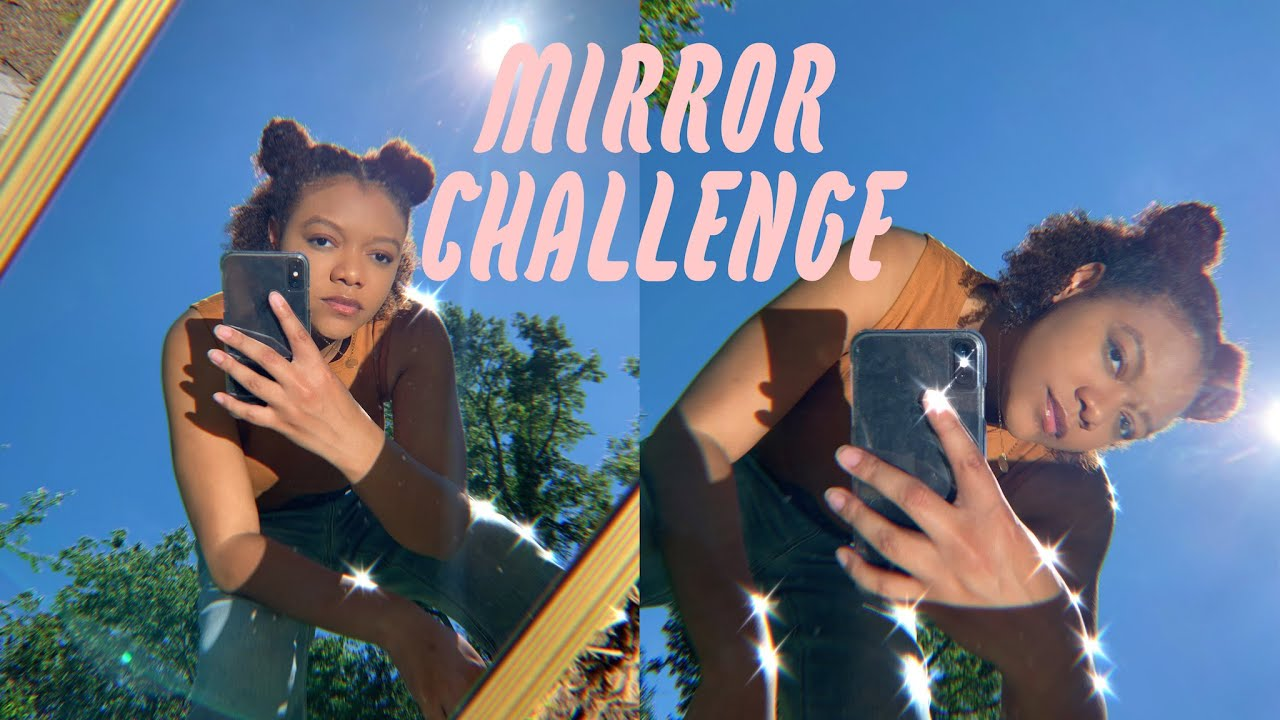Tik Tok Trend Outside Mirror Selfie Challenge How To Shoot Outside Youtube