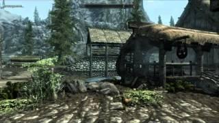 Skyrim (5) Необычное прохождение (Вступления в темное братство)
