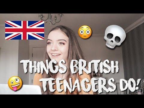 THINGS BRITISH TEENS DO | Alisha Mae