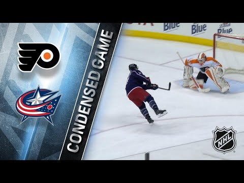 12/23/17 Condensed Game: Flyers @ Blue Jackets