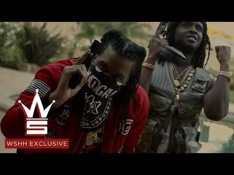 """Rocaine of Chief Keef's Glo Gang """"Rubberbands (Chicken Chicken)"""" (WSHH Exclusive)"""