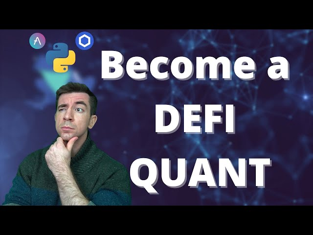 Become a DEFI QUANT | Python, Chainlink, and Aave