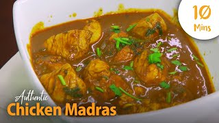 How to Make a Healthy, Authentic Chicken Madras in 10 Minutes