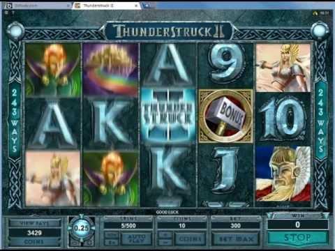 Thunderstruck 2 slot in Betway Casino